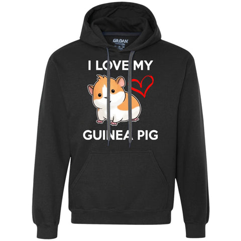 I Love My Guinea Pig  Heavyweight Pullover Fleece Sweatshirt