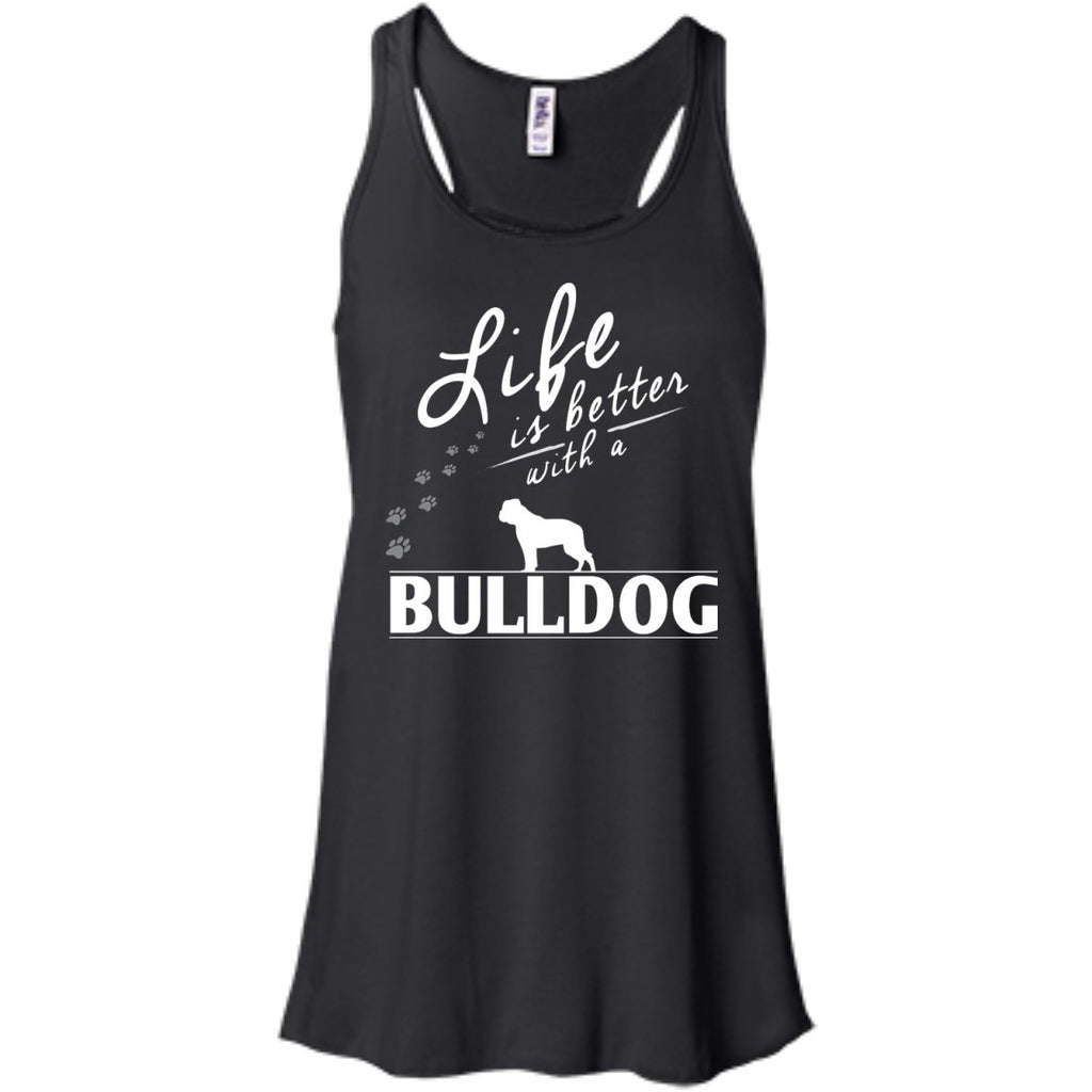 I Love My Beagle -  Bella+Canvas Flowy Racerback Tank