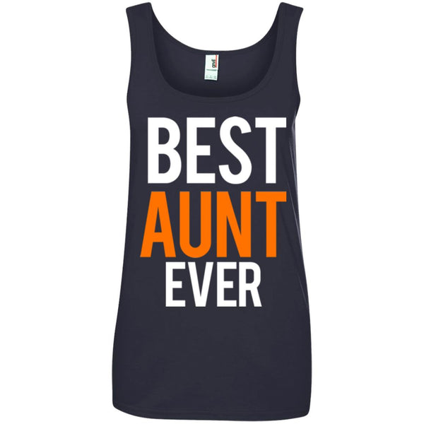 Great Aunt Gifts - Best Aunt Ever Shirt Ladies Tank Top