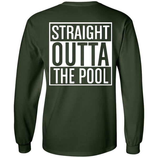 Funny Swimmers Straight Out Of The Pool - LS Ultra Cotton Tshirt