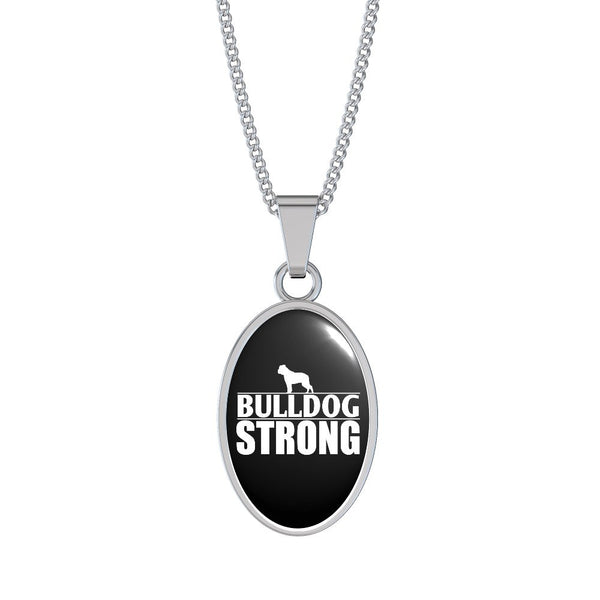 Bulldog Strong Necklace and Bangle