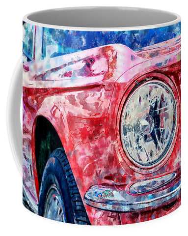 Watercolor Of Classic Car - Mug