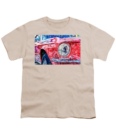 Watercolor Of Classic Car - Youth T-Shirt