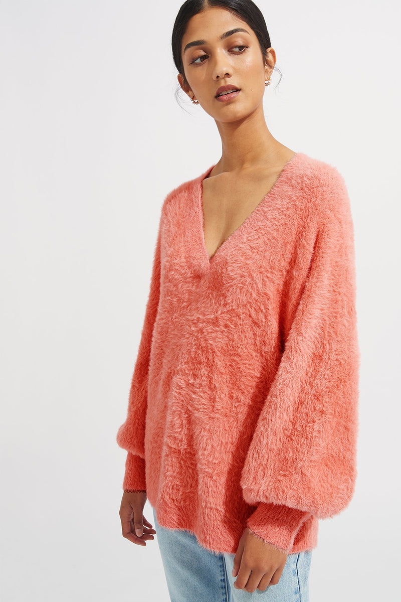 Phoenix Knit - Rhubarb - steele label