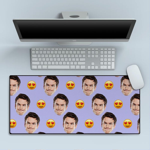 Custom Face Big Mouse Pad