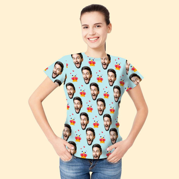 Custom Face Woman T-shirt