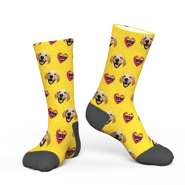 Custom Dog Face Socks Online Design Your Face Gifts