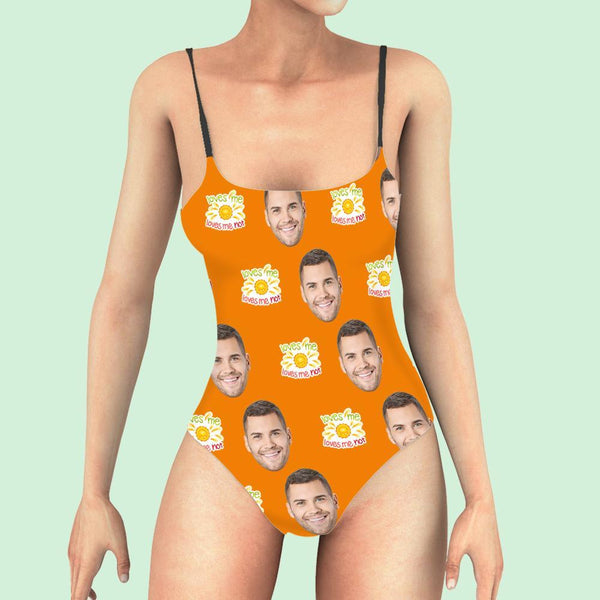 Custom Face One Piece Swimsuit