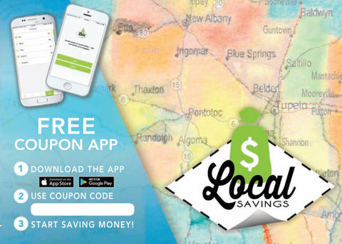 Coupon ad - 2018-19 Local Savings coupon book