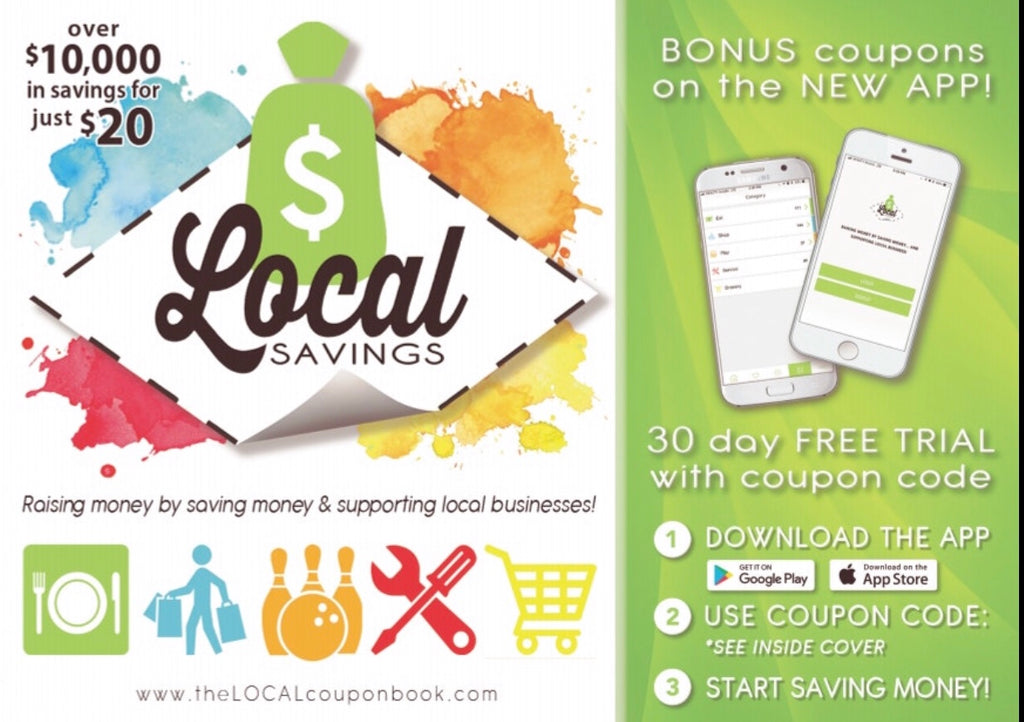 2019-20 Local Savings coupon book