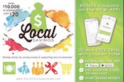 Coupon ad 2019-20 Local Savings coupon book