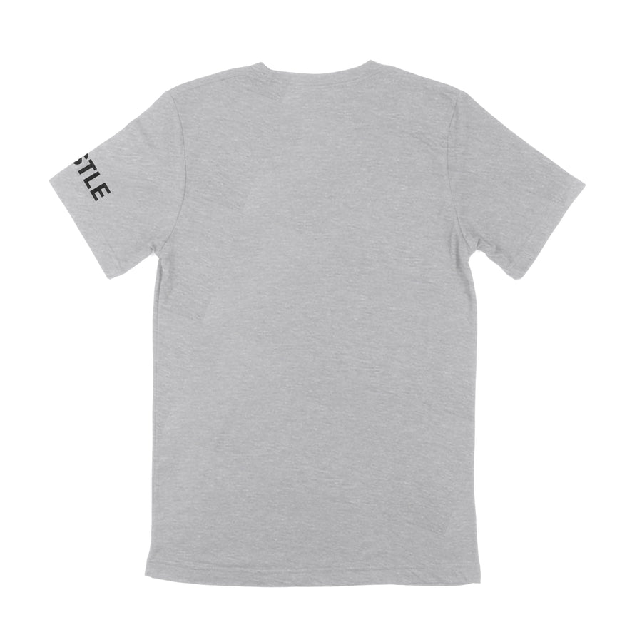 THE ONLY EASY DAY WAS YESTERDAY SHIRT - HEATHER GREY