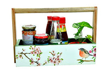Load image into Gallery viewer, The Weaver's Nest Wooden  Kitchen MultiStorage Utility Caddy
