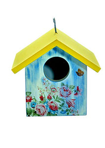 Beautifully Hand Crafted Bird House-The Weaver's Nest