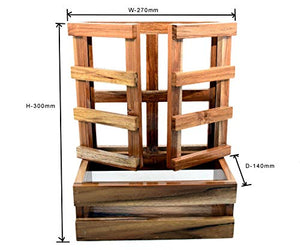 The Weaver's Nest Wooden Window Planter