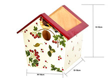 Load image into Gallery viewer, The Weaver's Nest : Wooden Birdhouse Shaped Decorative Multi Utility Storage Planter Box