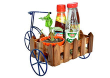 Load image into Gallery viewer, Beautifully Designed Cycle Shaped cart -The Weaver's Nest