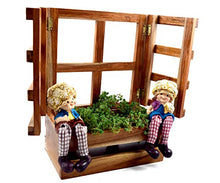 Load image into Gallery viewer, The Weaver's Nest Wooden Window Planter
