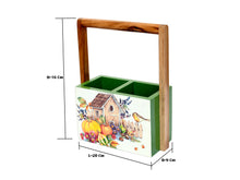 Load image into Gallery viewer, The Weaver's Nest Spoon Stand Cutlery Holder Table Organizer for Kitchen , Dining Table