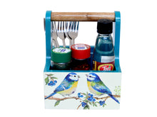 Load image into Gallery viewer, The Weaver's Nest Spoon Stand Cutlery Holder and Table Organizer with Storage for Kitchen and Dining Table