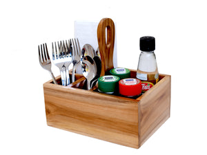 The Weaver's Nest Spoon Stand Cutlery Holder and Table Organizer for Dining Table and Kitchen