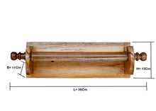 Load image into Gallery viewer, The Weaver's Nest Wooden Towel Holder/Rack for Kitchen, Restaurants, Hotels and Washroom