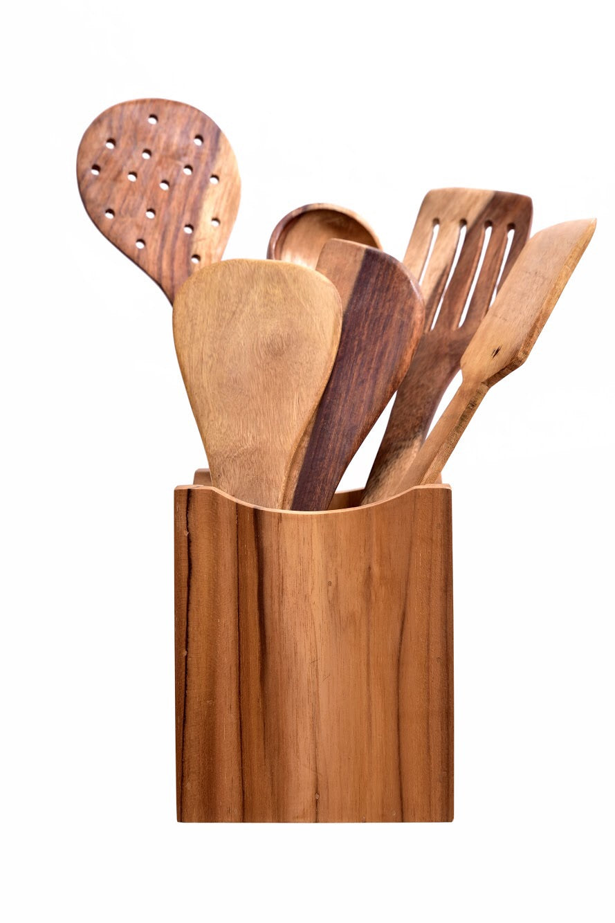Cutlery Holder with Ladles