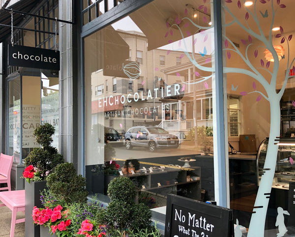 EHChocolatier Chocolate Shop Spring 2019 Cambridge