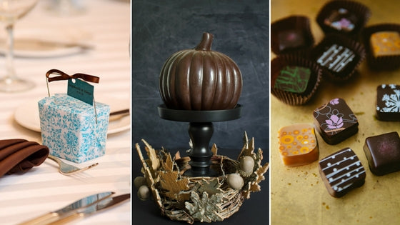 Thanksgiving Dinner Chocolates and Ideas