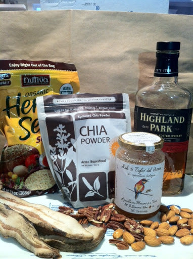 Bacon and Scotch Ingredients