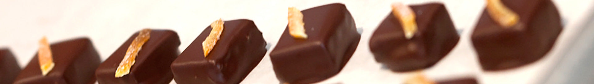 Artisan Chocolate orange peels
