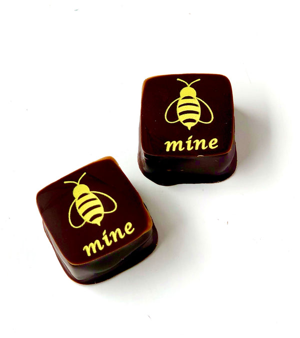 Bee Mine Honey Caramel Chocolates