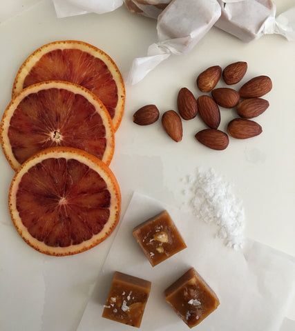 Blood Orange Almond Caramel
