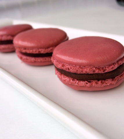 Dark Chocolate Honey French Macaron