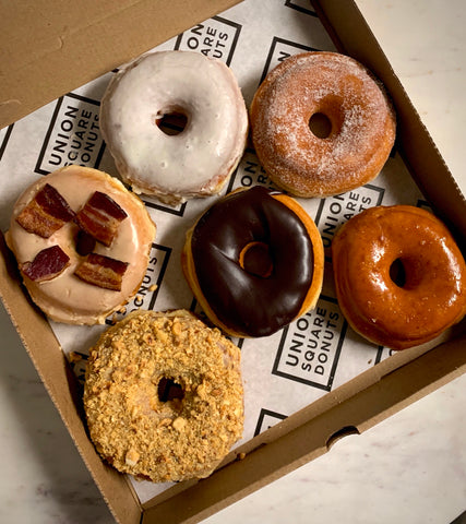 Union Square Donuts Favorite Half Dozen