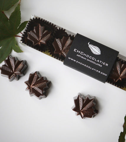 EHChocolatier Vermont Maple Chocolates - the perfect new england fall gift for the maple syrup lover!