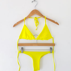 NEON SET TRIANGLE BASIC X TANGA, , Bikini Me Beachwear - Bikini Me Beachwear