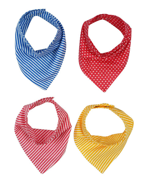 Bandana Bibs - pack of 4