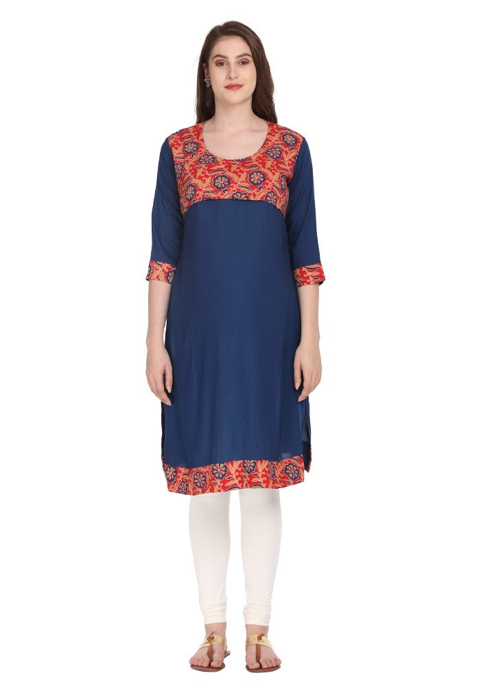Stylish Red Feeding Kurti