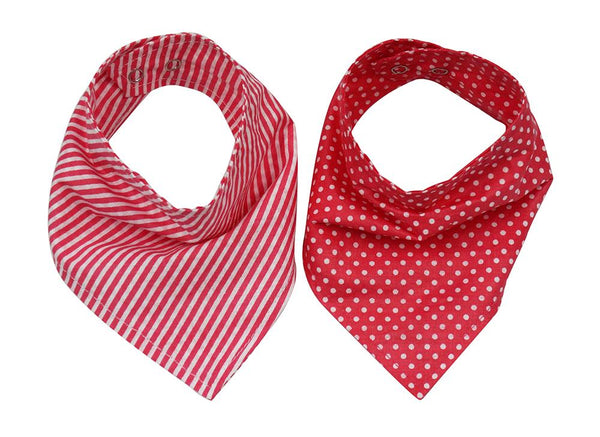Bandana Bibs - pack of 2