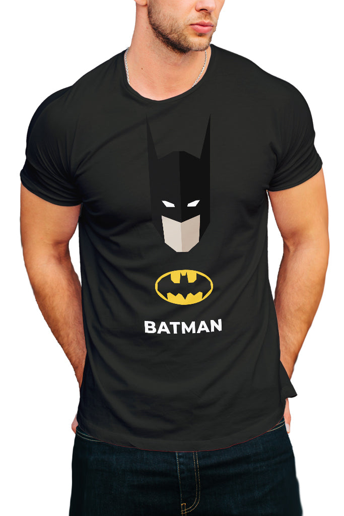 BATMAN - Round Neck Men's T-Shirt - Royal Belly