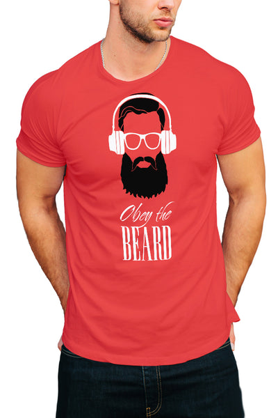 Obey the Beard Men's T-Shirt - Royal Belly
