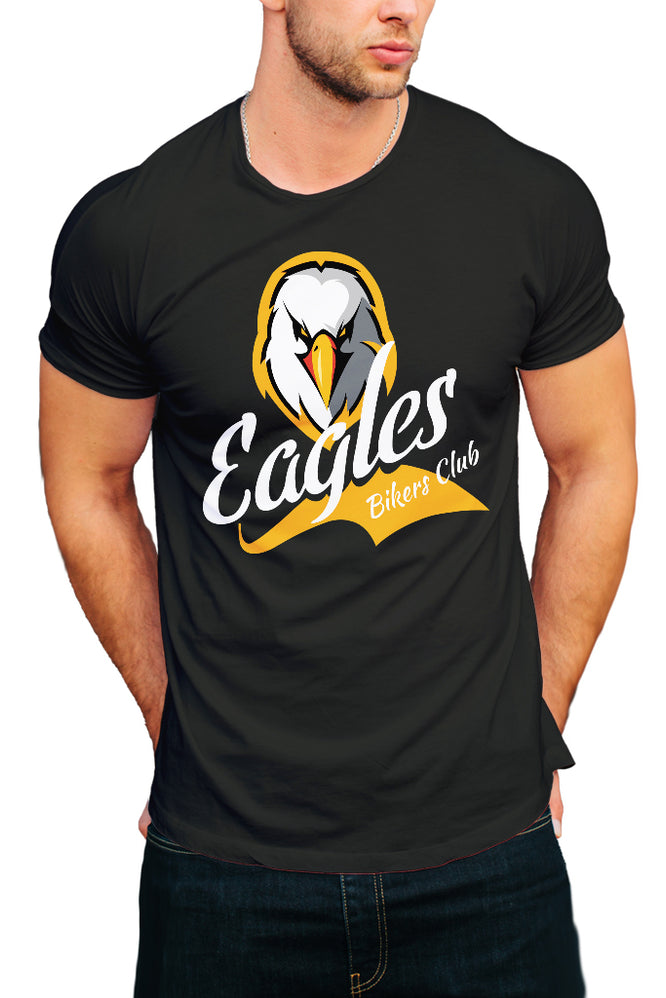 Eagle Bikers Club Men's T-Shirt - Royal Belly