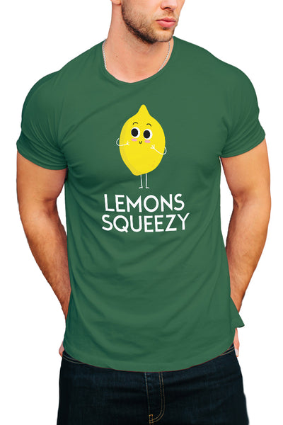 Lemon Squeezy Men's T-Shirt - Royal Belly