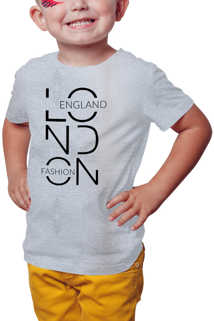 London Fashion England Boy T-Shirt - Royal Belly