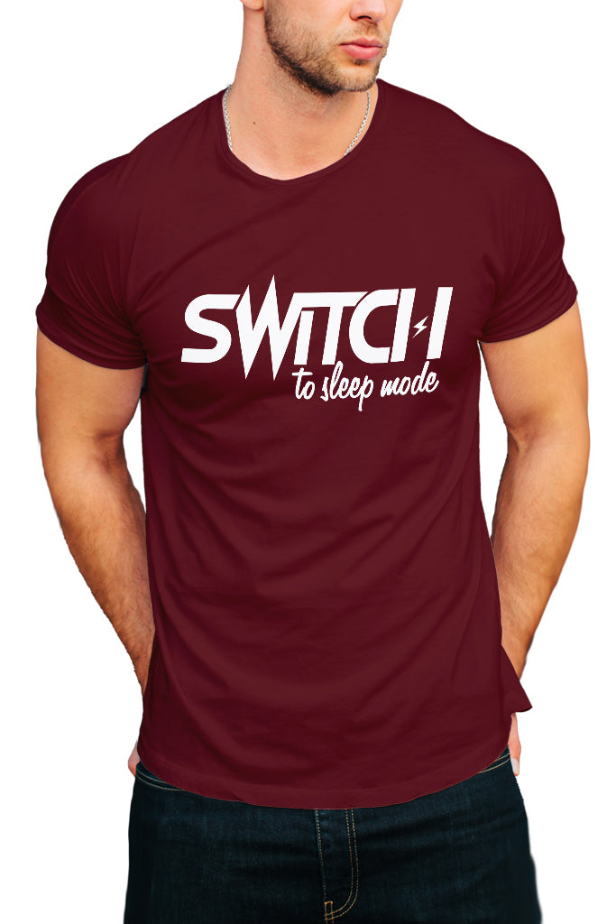 Switch To Sleep Mode Men's T-Shirt - Royal Belly