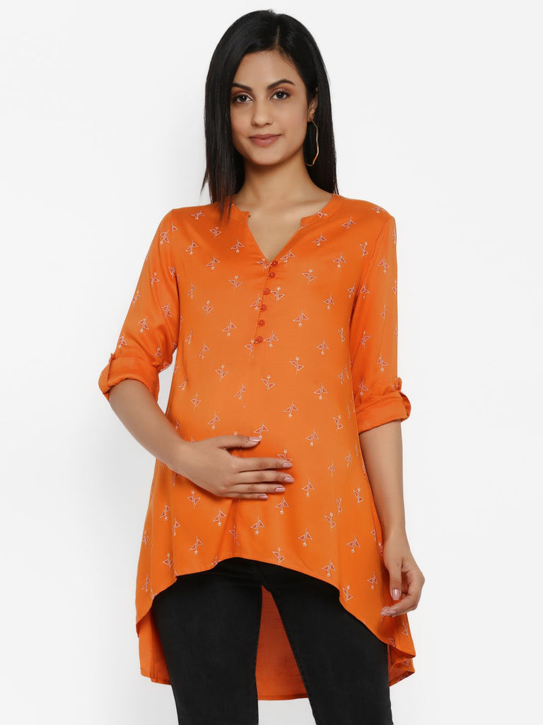 Maternity Highlow Top