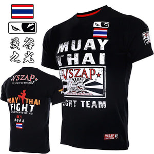 VSZAP fighting muay Thai t-shirt