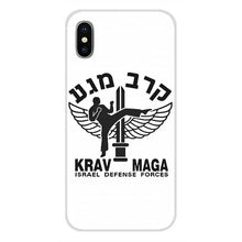 Afbeelding in Gallery-weergave laden, Israel Krav maga Phone Cases Covers For Apple iPhone X XR XS MAX 4 4S 5 5S 5C SE 6 6S 7 8 Plus ipod touch 5 6 - vechtsportartikelen