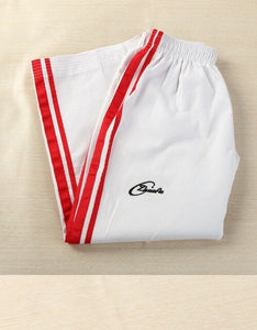 Taekwondo broek wit/rood - Red / M - Red / S - Red / XS/S - Red / XS - Red / XXS - Red / XL - Red / XXL